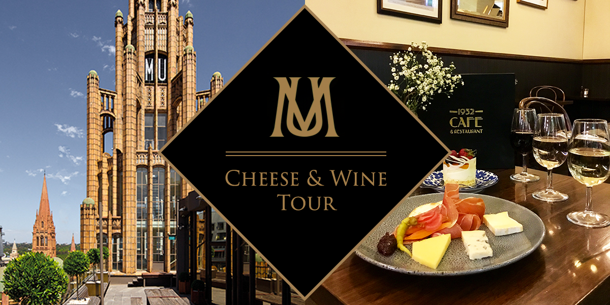 manchester unity building cheese & wine tour