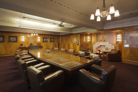 manchester unity building boardroom table