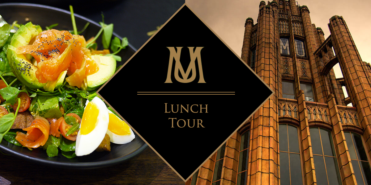 manchester unity building lunch tour